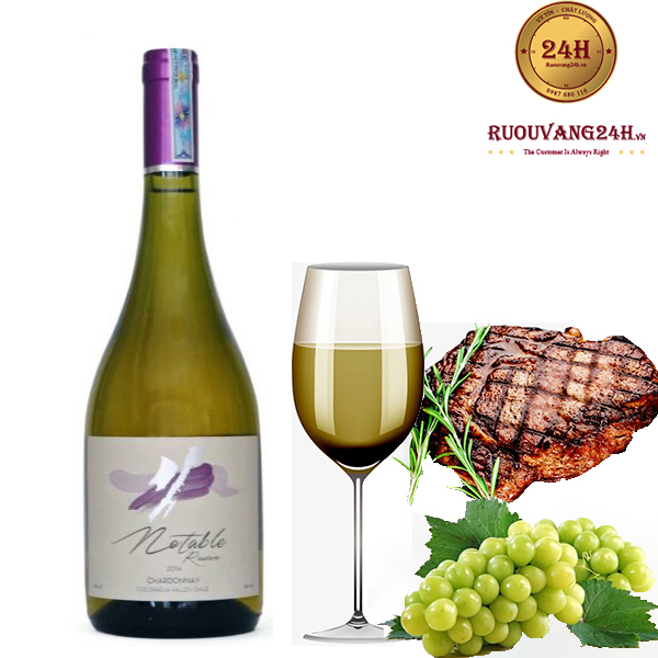 Rượu vang Notable Reserve Chardonnay