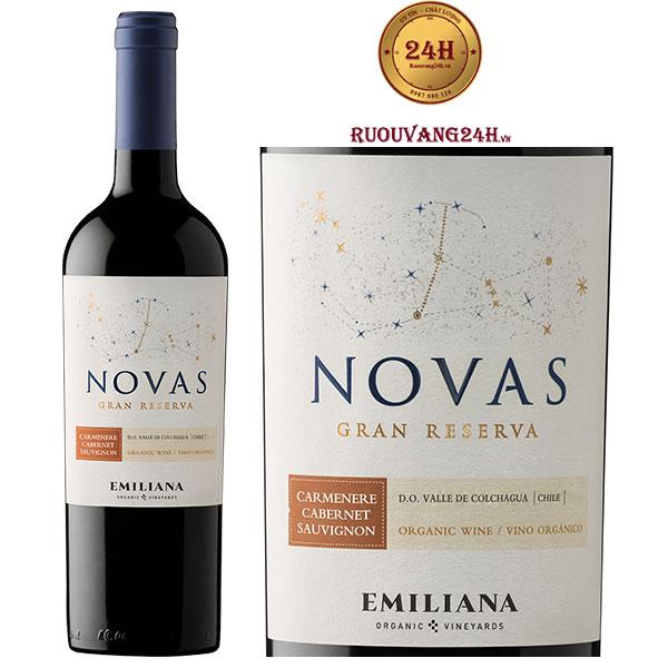 Rượu vang Novas Gran Reserva Carmenere Cabernet Sauvignon