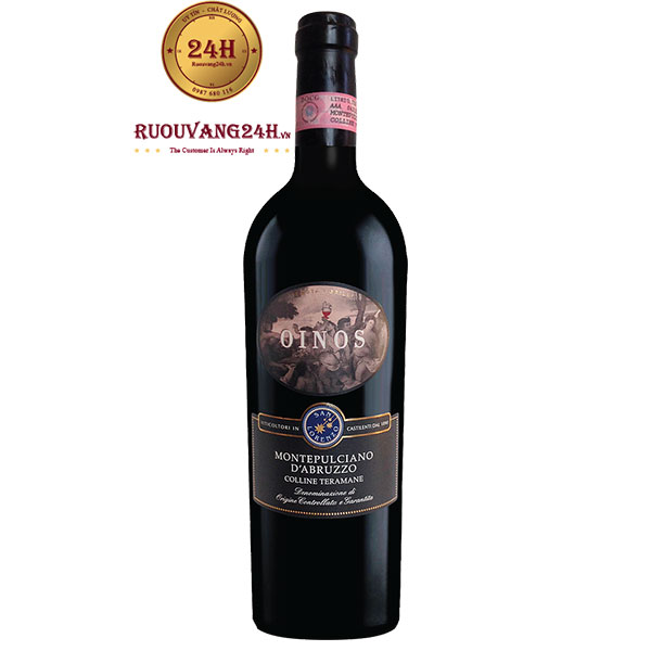 Rượu Vang Oinos Montepulciano d'Abruzzo DOCG