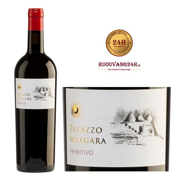 Rượu vang Palazzo Primitivo