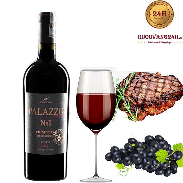 Rượu vang Palazzo Riserva No.1
