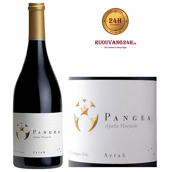 Rượu vang Pangea Syrah