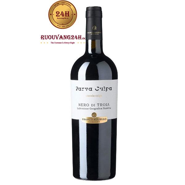 Rượu vang Parva Culpa Nero Di Troia Puglia