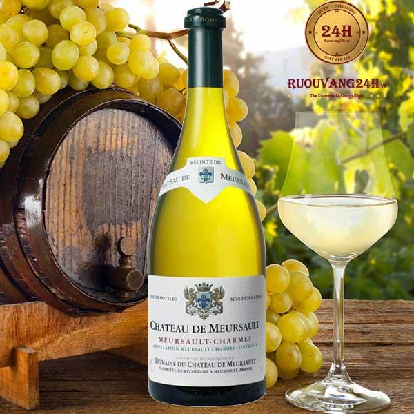 Rượu vang Patriarche Meursault Charmes