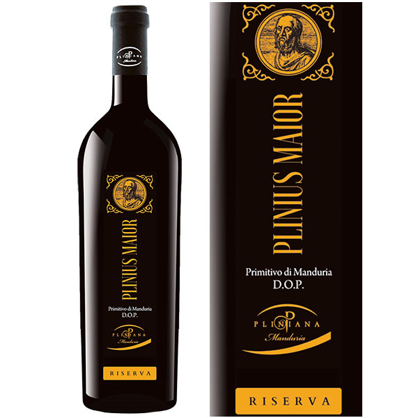 Rượu vang Plinius Maior Primitivo di Manduria D.O.P Riserva