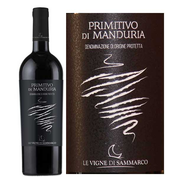 Rượu vang Primitivo Di Manduria Le Vigne Di Sammarco