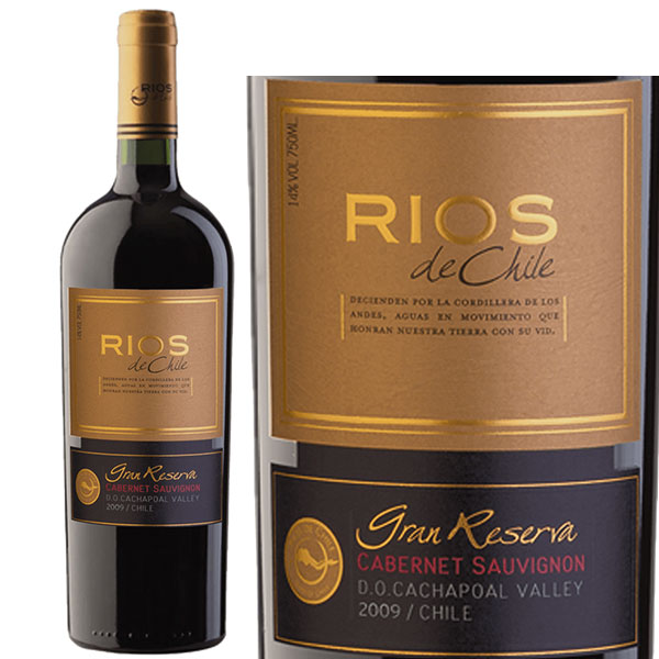 Rượu vang Rios De Chile Grand Reserva Cabernet Sauvignon