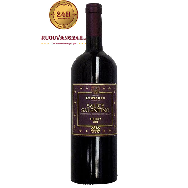 Rượu Vang Rosso Salice Salentino Riserva Cantine di Marco