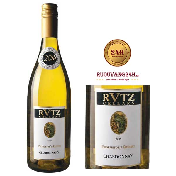 Rượu vangRutz Cellars Chardonnay Limited Release