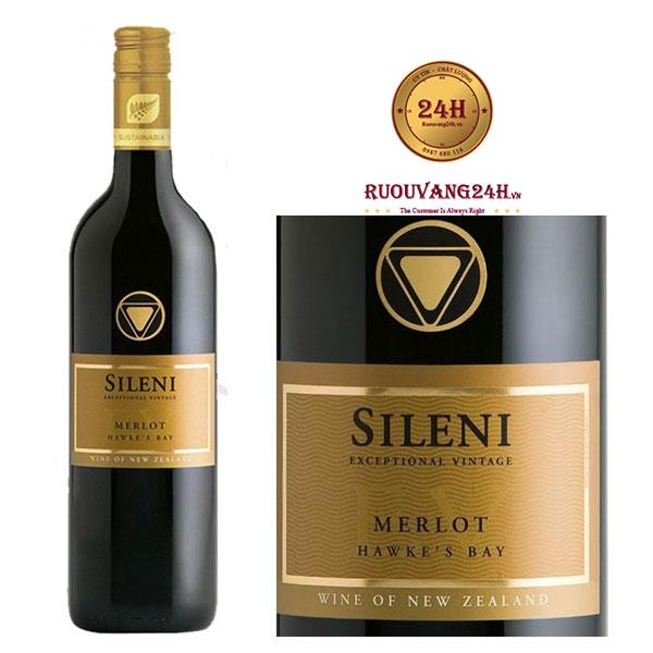 Rượu vang SILENI Merlot Exceptional Vintage Hawke's Bay