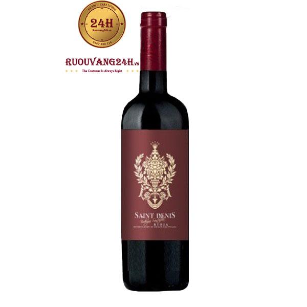 Rượu vang Saint Denis Crianza