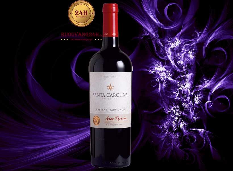 Rượu vang Santa Carolina Gran Reserva Cabernet Sauvignon