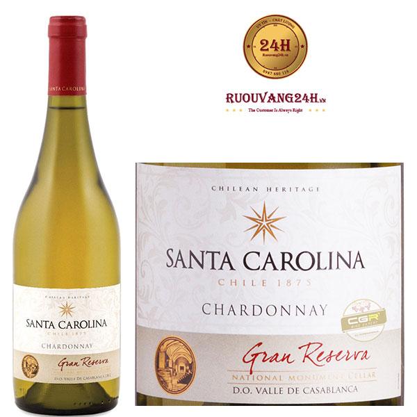 Rượu vang Santa Carolina Gran Reserva Chardonnay