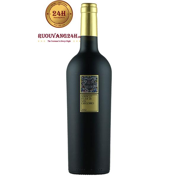 Rượu Vang Serpico Feudi Di San Gregorio Irpinia