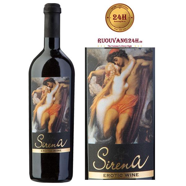 Rượu vang Sirena Erotic Wine Premium
