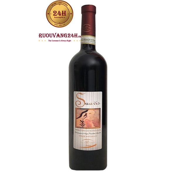 Rượu vang Suavis Primitivo Di Manduria
