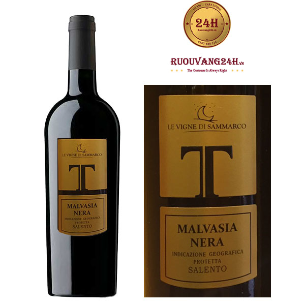 Rượu vang T Malvasia Nera Salento