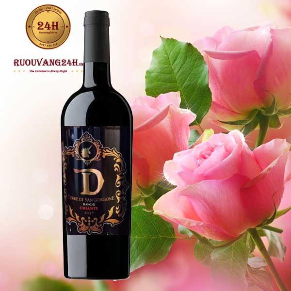 Rượu Vang D Terre Di San Gorgone Barral Chianti Riserva