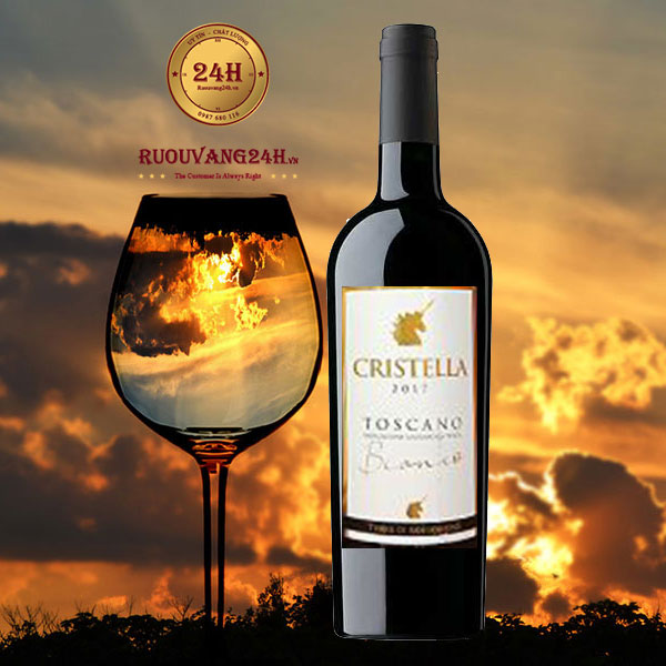 Rượu vang Terre Di San Gorgone Cristella Toscano Bianco