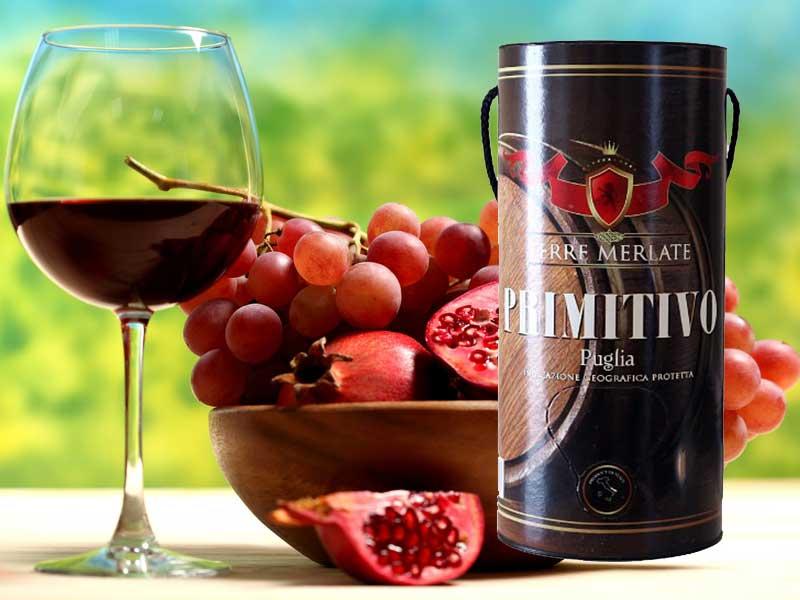 Rượu vang Terre Merlate Primitivo