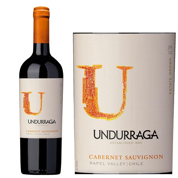 Kết quả hình ảnh cho vang chile undurraga chardonnay