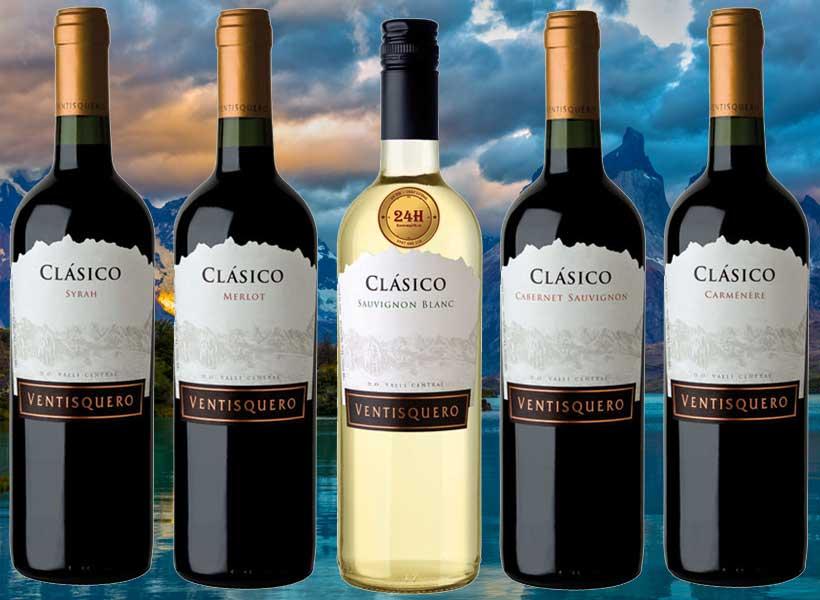 Rượu vang Ventisquero Clasico
