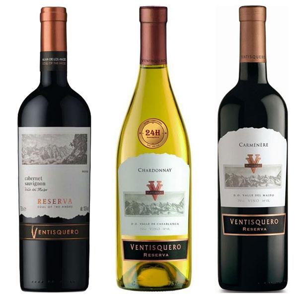 Rượu vang Ventisquero Reserva Cabernet Sauvignon