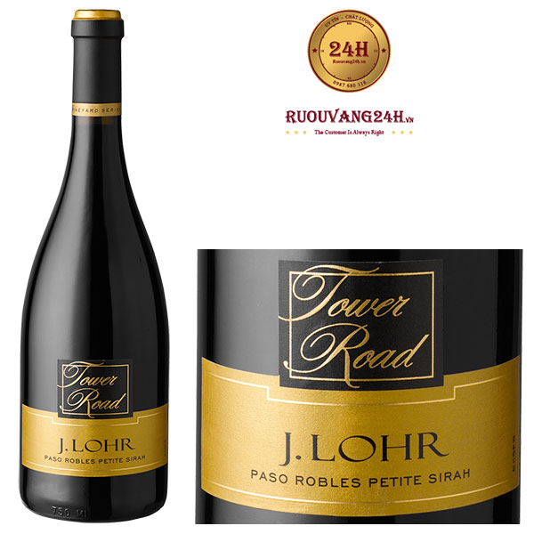 Rượu vang Vineyard Series Tower Road Petite Sirah