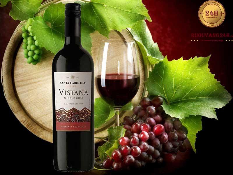 Rượu Vang Vistana Cabernet Sauvignon