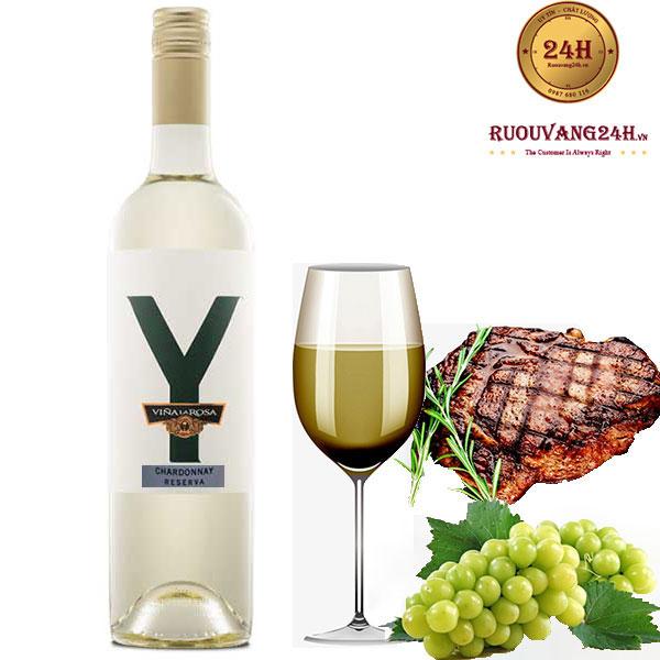 Rượu vang Y Reserva Chardonnay