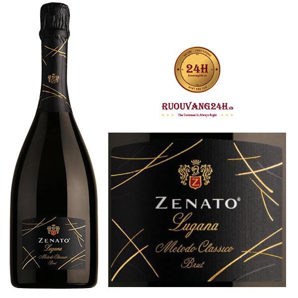 Rượu vang Zenato Lugana Brut