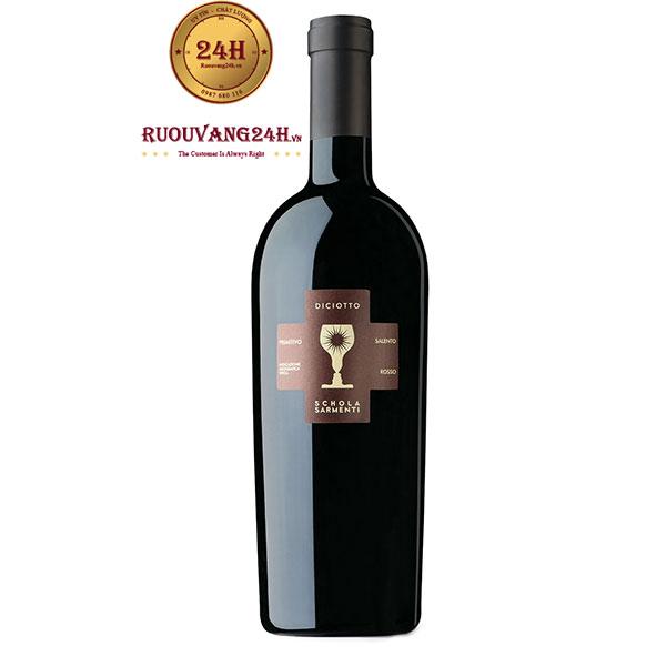 Rượu Vang Diciotto 18 Độ – Vang Ý Chén Thánh 18 Độ