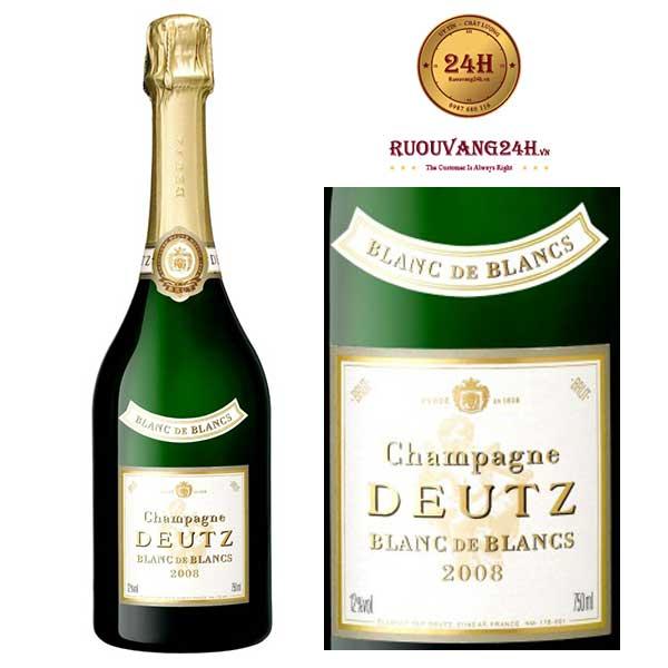 Rượu Champagne Deutz Blanc De Blancs