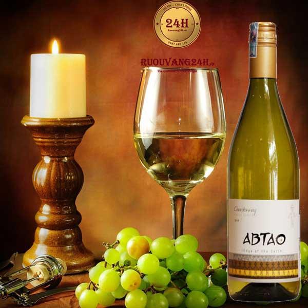Rượu Vang Abtao Varietal Chardonnay