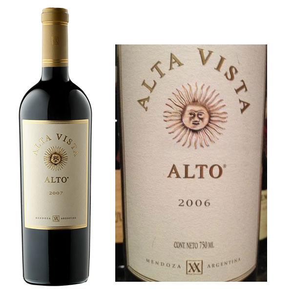 Rượu Vang Alta Vista Alto