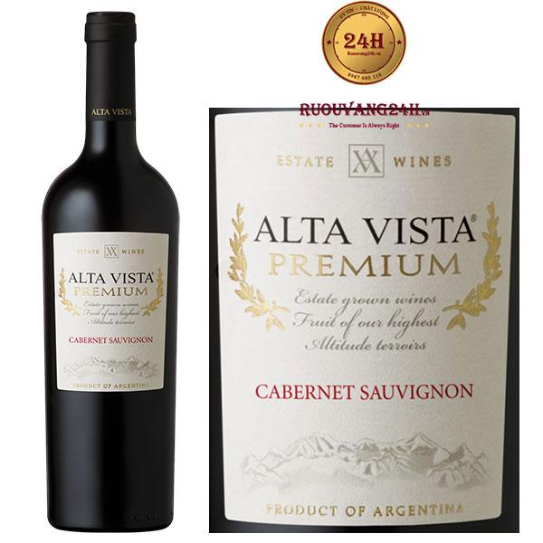 Rượu Vang Alta Vista Premium Cabernet Sauvignon