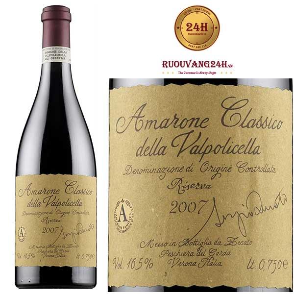 Rượu Vang Amarone Classico Della Valpolicella Riserva