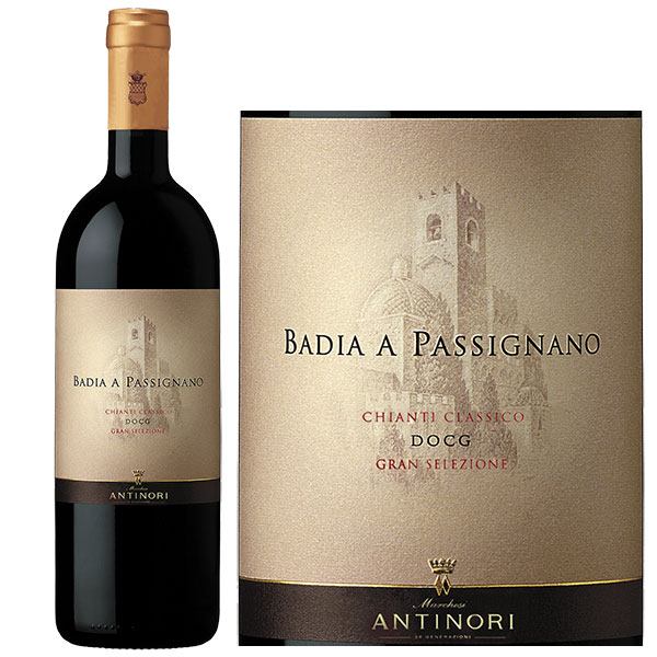 Rượu Vang Antinori Badia a Passignano Chianti Classico DOCG