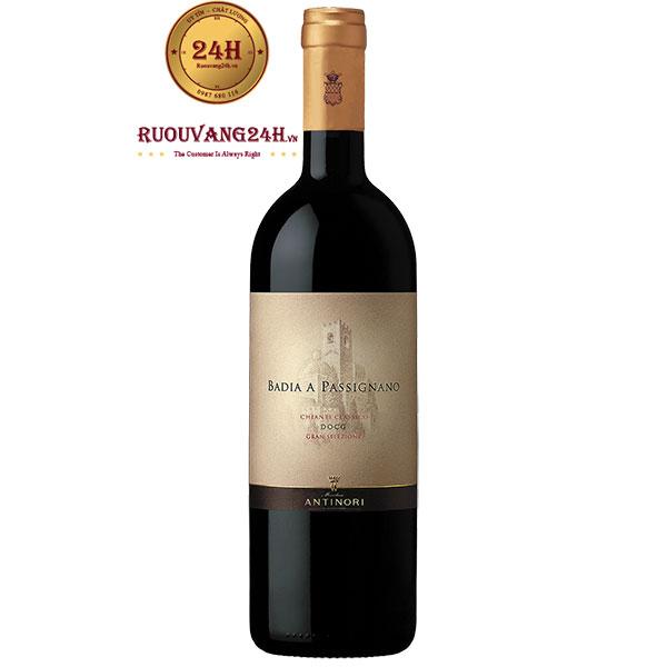 Rượu Vang Antinori Badia a Passignano