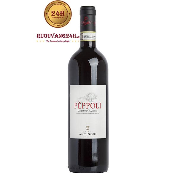 Rượu Vang Antinori Peppoli Estate Chianti Classico