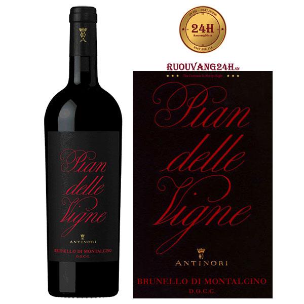 Rượu Vang Antinori Pian Delle Vigne Brunello di Montalcino DOCG