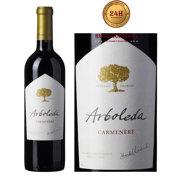 Rượu Vang Arboleda Carmenere