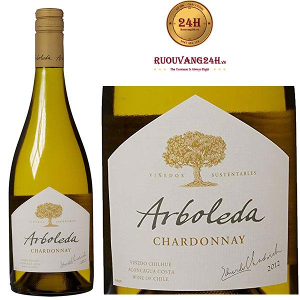 Rượu Vang Arboleda Chardonnay