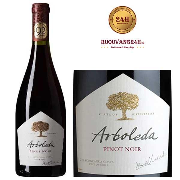 Rượu Vang Arboleda Pinot Noir