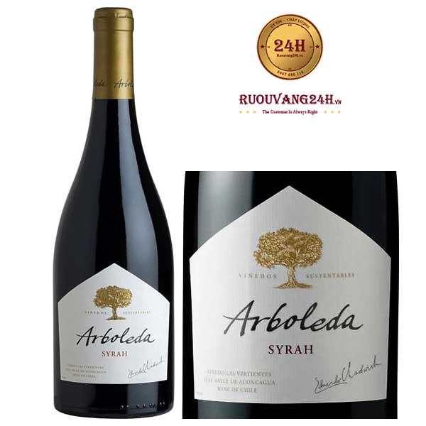 Rượu Vang Arboleda Syrah