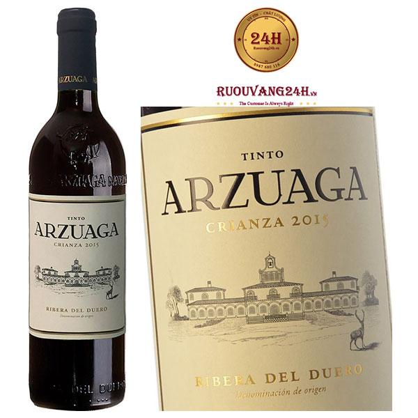 Rượu Vang Arzuaga Tinto Crianza Ribeira de Duero Do