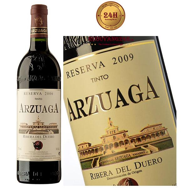 Rượu Vang Arzuaga Tinto Reserva Ribeira de Duero Do