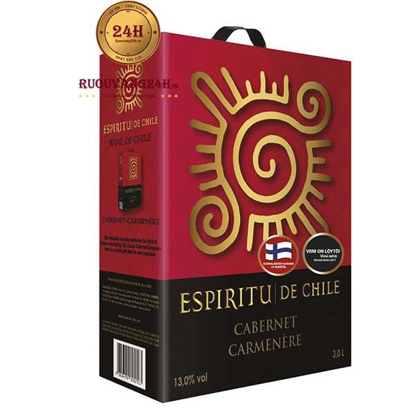 Rượu Vang Bịch Espiritu De Chile