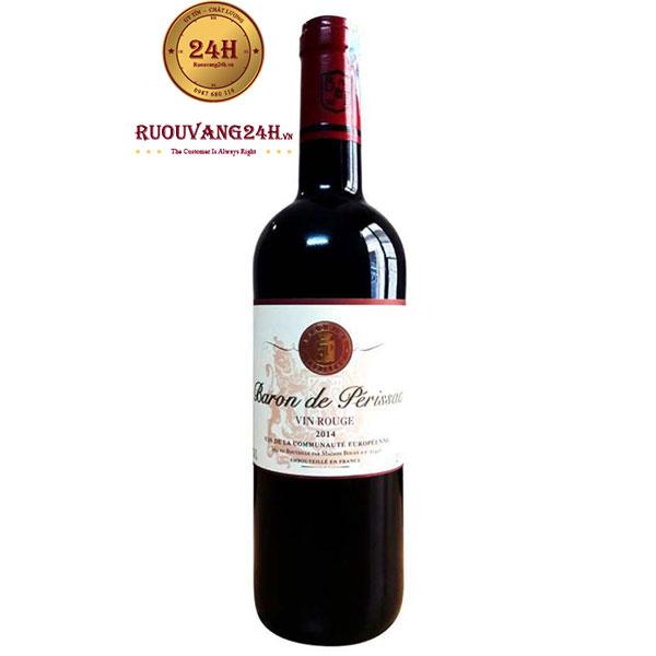 Rượu Vang Baron De Perissac Vin Rouge