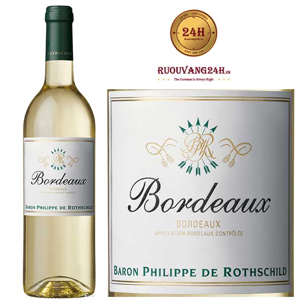 Rượu Vang Baron Philippe de Rothschild Bordeaux White